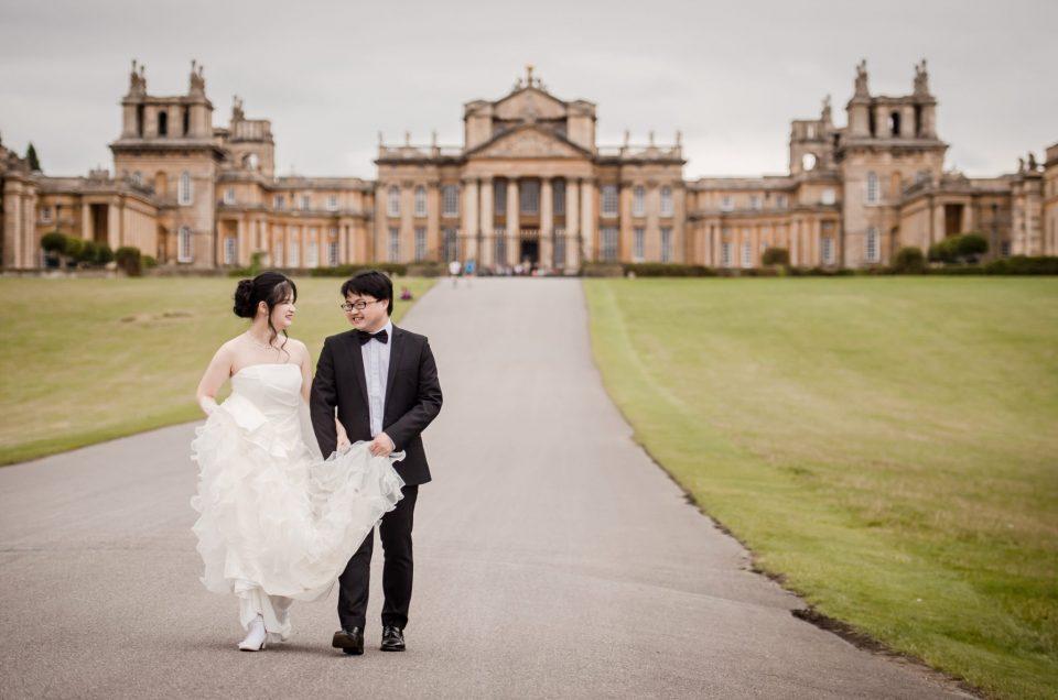 Blenheim Palace Wedding Photography - Lisa and Weizhong