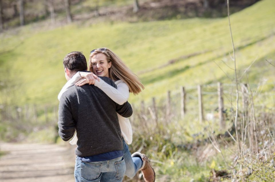 Woodchester Park Engagement Photography - Laura and Alex