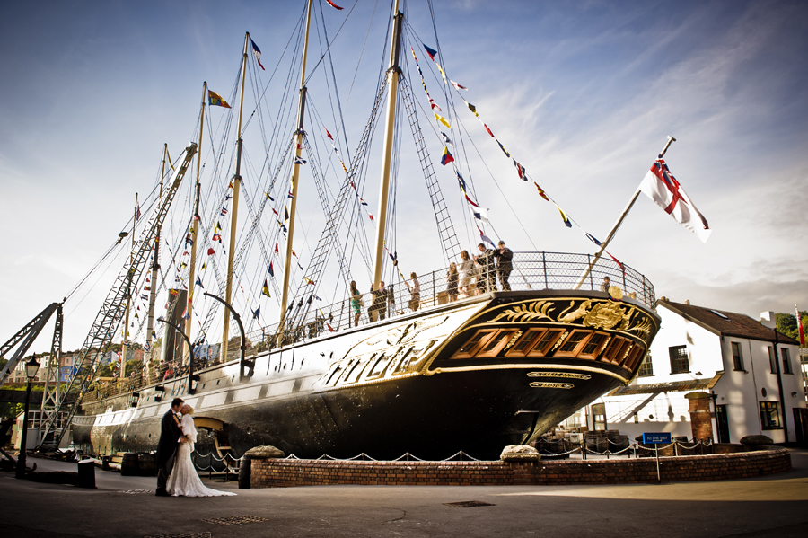 SS Great Britain Wedding - Bristol Wedding Photographer