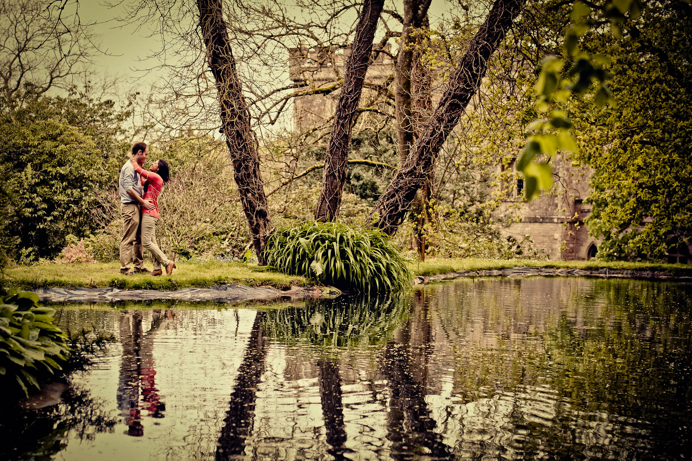 Clearwell Castle Wedding Photography – Sam and Krupa